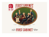 First Cabinet Wall Decal