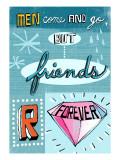 Los amigos son para siempre Vinilo decorativo