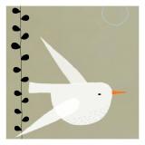 Hvid fugl, White Bird Wallstickers