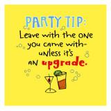 Party Tip to Upgrade - Duvar Çıkartması