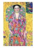 Portrait of Eugenia (M?) Primavesi Wallstickers af Gustav Klimt