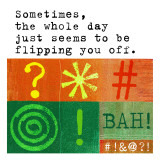 Flipping You off Day Wallstickers