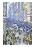 Fifth Avenue Wallstickers af Childe Hassam