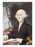 Portrait of George Washington Wall Decal