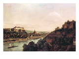 View of Pirna Wall Decal by  Canaletto