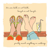 Talk, Laugh, Anything Wall Decal