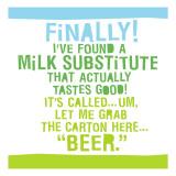 Milk Substitute Wallstickers