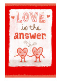 Love is the Answer Wall Decal