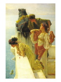Good Vantage Point Wall Decal by Sir Lawrence Alma-Tadema