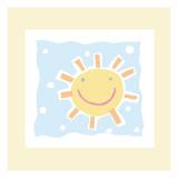 Cheerful Sun Wallstickers