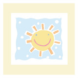 Cheerful Sun Wall Decal