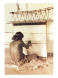 Hopi Weaver, Walpi Wall Decal by Carl And Grace Moon