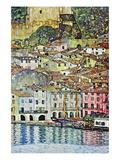 Malcesine ved Gardasøen Wallstickers af Gustav Klimt