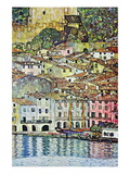 Malcena At The Gardasee Wall Decal by Gustav Klimt