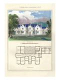 Tudor Hall Elizabethan Style Wall Decal by Richard Brown
