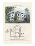 Villa in the Roman Style Wall Decal by Richard Brown