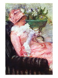 The Cup of Tea Wall Decal by Mary Cassatt