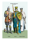 German Costumes: Knight and Prince Wall Decal