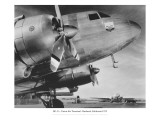 DC-3, Union Air Terminal, Burbank, California 1935 Wall Decal
