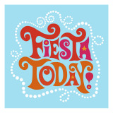 Fiesta Today Wall Decal