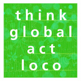 Thing Global, Act Local Wall Decal