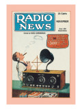 Radio News Wall Decal