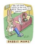 Rabbit Moms Wall Decal