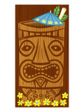 Tiki Drink Wall Decal