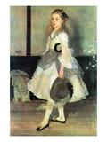 Portrait of Miss Alexander Wall Decal by James Abbott McNeill Whistler