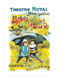 Babes in the Wood at the Theatre Royal Manchester Wall Decal by Charles Norris Cooper