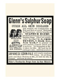 Glenn's Sulphur Soap Wall Decal