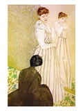 Fitting Wall Decal by Mary Cassatt