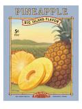 Pineapple Autocollant mural par Kerne Erickson