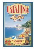 Catalina by Air Autocollant mural par Kerne Erickson