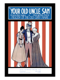 Your Old Uncle Sam, Melody of the Old Grey Mare Wall Decal