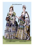 Zidmila Sophia of Sweden and Elizabeth of Bern, 18th Century Wall Decal by Richard Brown