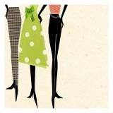 Fashion Ladies Wallstickers
