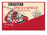 Cragstan Space Capsule Wall Decal