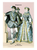 Carl IX and Lenora Wall Decal by Richard Brown