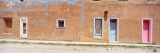 Facade of Adobe Houses, Tularosa, New Mexico, USA Wall Decal by  Panoramic Images