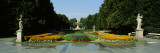 Fountain in a Garden, Saxon Garden, Warsaw, Poland Wall Decal by  Panoramic Images