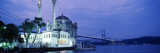 Ortakoy Mosque, Istanbul, Turkey Wall Decal by Panoramic Images