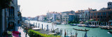 Boats and Gondolas in a Canal, Grand Canal, Venice, Italy Wall Decal by  Panoramic Images