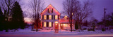 Facade of a House, Mineral Point, Wisconsin, USA Wall Decal by  Panoramic Images
