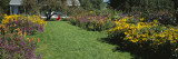 House in a Garden, Vergennes, Vermont, USA Wall Decal by  Panoramic Images