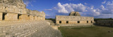 Ruins of an Old Building, Nunnery Quadrangle, Uxmal, Yucatan, Mexico Wall Decal by  Panoramic Images