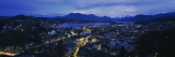 City at Dusk, Lucerne, Switzerland Wall Decal by  Panoramic Images