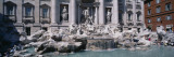 Fountain in Front of a Building, Trevi Fountain, Rome, Italy Wall Decal by  Panoramic Images
