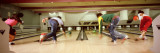 Youths in Bowling Alley, USA Wall Decal by  Panoramic Images