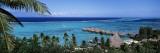 High Angle View of Beach Huts, Kia Ora, Moorea, French Polynesia Veggoverføringsbilde av Panoramic Images,